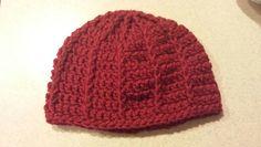 Striped hat, 3-6 mos