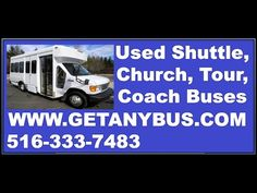 Church Bus - Used Buses for Sale - Used Bus for Sale: 2007 Ford E350 Wheelchair Shuttle Bus Non CDL