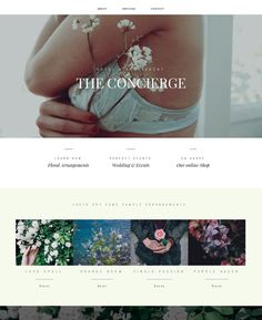 Concierge Website Template. Youglobalize DIY Website Builder coming soon. Follow us for updates and offers. #websites #webdesign #website #websitebuilder #design #concierge #flowers #flower #mothersday