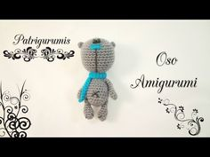 DIY OSITO Amigurumi en ganchillo - Crochet - YouTube