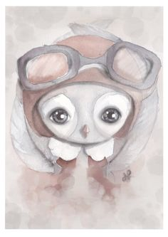 ELLIS the little aviator 40 x 50 via HILDELOV. Click on the image to see more!