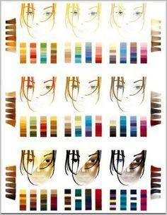 Das 9er-Farbschema der Typberatung