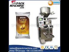 VFFS sachet packing machine automatic pouch packaging machinery