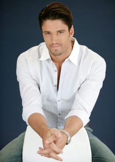 James Scott ~ because he is MY Christian Grey (*Fifty Shades of Grey*)...and he has an accent to boot!