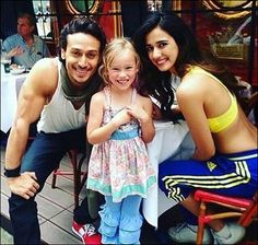 Check out Tiger Shroff and Disha Patani pose with a fan in Paris
