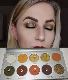 Jaclyn Hill vaults armed and gorgeous palette. Jaclyn Hill Palette Looks Armed Gorgeous Hill Jaclyn Palette vaults Gorgeous Makeup, Love Makeup, Makeup Inspo, Makeup Inspiration, Jacklyn Hill Palette Looks, Jaclyn Hill Palette, Makeup Goals, Makeup Tips, Beauty Makeup