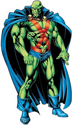 The Martian Manhunter has so far been a no-show on the big screen, but thissomehow serious oversight may soon be corrected Dc Heroes, Comic Book Heroes, Comic Books, Chun Li, Dc Comics Art, Fun Comics, Bodybuilding Pictures, Dc World, Person Of Color