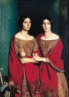 Théodore Chassériau - 1819-1856 - the Two Sisters 1843