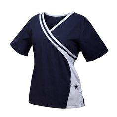 Dallas Cowboys NEW Women's NFL Scrub Top