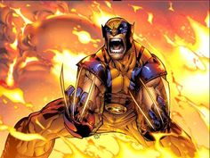 """Wolverine. i remember reading this issue and thinking, """"damn, that boy's off the chain."""""""