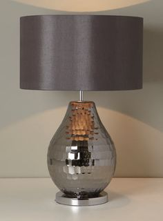 Smoke Eleanor Table Lamp