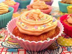 Apfel-Zimt Cupcake und Bananencake