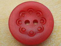 14 rote Knöpfe 18mm (6196-2)Jackenknöpfe Knopf rot