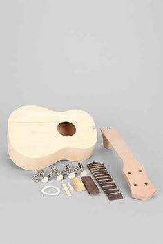 DIY Build Your Own Ukulele Kit - probably would look to purchase from somewhere other than Urban Outfitters. Urban Outfitters Gifts, Ukelele, Perfect Mother's Day Gift, Build Your Own, Music Stuff, Cool Stuff, Stuff To Buy, Diy Projects, Crafty