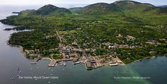 One day I will live in the town of Bar Harbor, Maine!