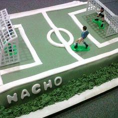 tortas de futbol para niños cumpleaños