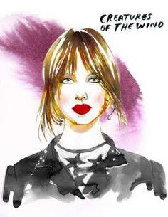 Alexander Wang - Samantha Hahn's Fashion Week Illustrations - The Cut