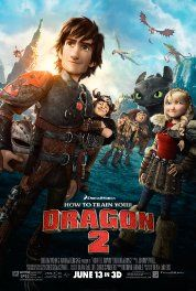 IMDb:  How to Train Your Dragon 2 (2014) Poster. Ed J. Review:  Excellent movie for both kids and parents.  Bigger, better and more powerful dragons!  Great continuation of great writing!  10 out of 10!