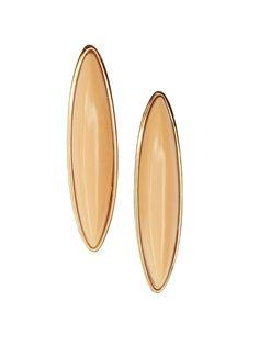 Peach Etta Earrings by ShopJami.com