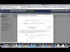 Facebook Advertising: Website Custom Audiences