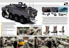 The Concept of a New Andarkan Wheeled Armoured Vehicles   Defence blog