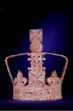 Mulberry. In honor of the upcoming Queen's Jubilee, the famous London department store Harrod's asked top fashion labels to envision an updated version of the Queen's royal crown.