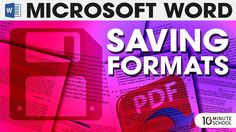 MS Word Saving Formats | Tutorial 20 Instructor: Sadman Sadik - Chief Content Creator10 Minute School Facebook link: http://ift.tt/2voKHVV MS Word Saving Formats | Tutorial 20 Series : Microsoft Word Course Learn anything from 10 Minute School! We have lessons for JSC SSC HSC and also university courses. We cover physics chemistry biology mathematics accounting marketing English Bangla religion social science ICT and everything else you will have to study for your Bangladesh education board…