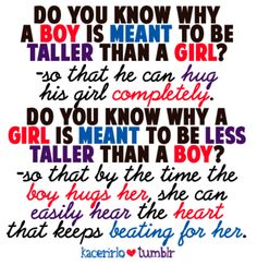 1000+ images about Couple Quotes on Pinterest | Tall guys ...
