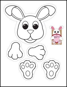Fun Valentine's Day Freebie that could be easily changed to hold an Easter Basket. Easter Activities, Holiday Activities, Preschool Crafts, Bear Valentines, Valentine Crafts For Kids, Homemade Valentines, Valentine Wreath, Valentine Ideas, Valentine Gifts