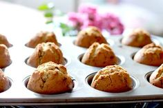 This muffin recipe is perfect for when you want something simple, or as a blank canvas for adding nuts, berries, chocolate chips or other yummy things.
