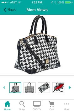 Dooney and Bourke as seen on QVC