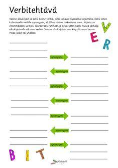 Finnish Language, Primary English, Language Arts, Classroom, Teaching, Class Room, Education, Language, Onderwijs