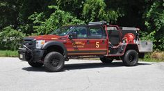 Pennsville NJ Volunteer Fire Co - New Brush/ Wildfire Truck #BrushTruck…