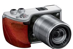 Proposed Hasselblad mirrorless camera.