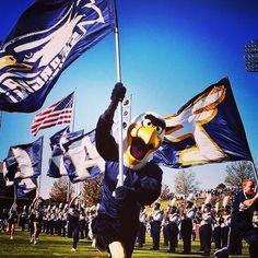 Visit Statesboro Loves Gus the Eagle! Georgia Southern Eagles, Georgia Southern University, Go Eagles, Timeline Photos, Football Season, Southern Style, Blue, Gift Ideas, Gatos