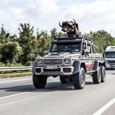 Brabus G700 6x6 Bull Russia