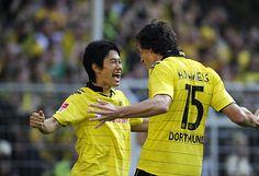 Borussia Dortmund - Shinji Kagawa & Matt Hummels