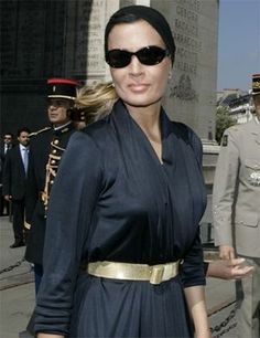 The most fashionable queen of all time :  The Sheikha Mozah of Qatar