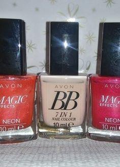 Kup mój przedmiot na #vintedpl http://www.vinted.pl/kosmetyki/pielegnacja-paznokci/16115972-avon-2-lakiery-do-paznokci-magic-effects-neon-oraz-lakier-bb-7w1