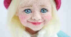 needle felted faces - Yahoo Image Search Results