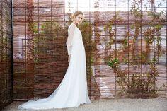 David Christian wedding dresses.