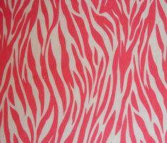 Sweet pink zebra!