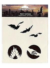 Tris tattoos--Divergent!!