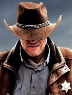 Walt from the t.v. show Longmire based on Craig Johnson's fantastic novel series.