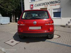 Folierung eines VW Touareg