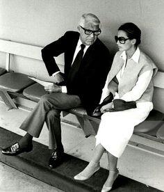 Cary Grant and wife, Barbara Harris