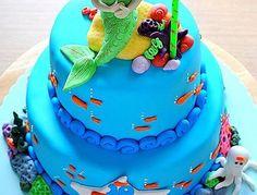 *Mermaid- Under The Sea cake