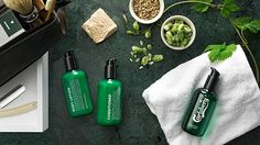 Carlsberg introduces a line of men's grooming products made of beer. #creativeadvertising #marketing @pgdesignsca