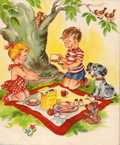 Fun vintage children's books images.  Great for crafts and DIY projects.  These would look super cute framed in a baby's room!  via houseofhawthornes.com