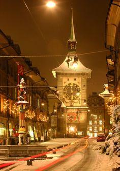 Berna , Suiza es una preciosa ciudad plagada de osos